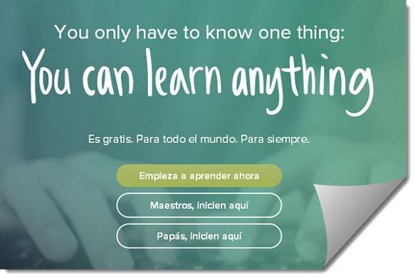 Khan Academy integra nuevos recursos educativos para incentivar nuestra capacidad de aprendizaje